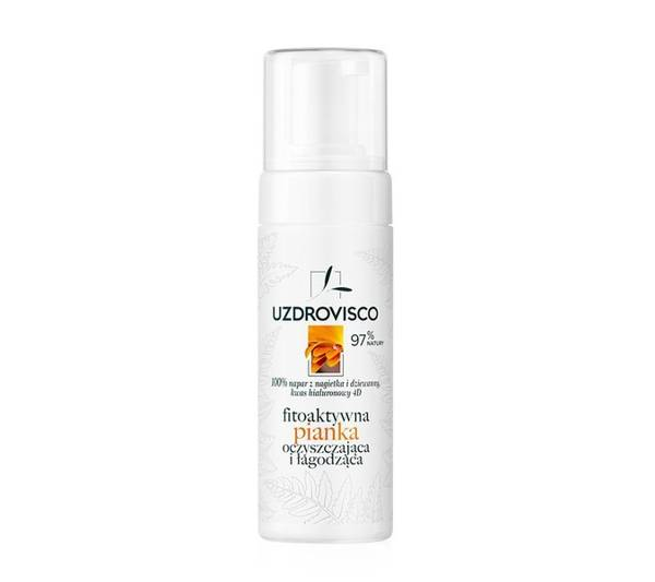 Fitoaktywna piankaoczyszczająca i łagodząca (150ml) do mycia twarzy